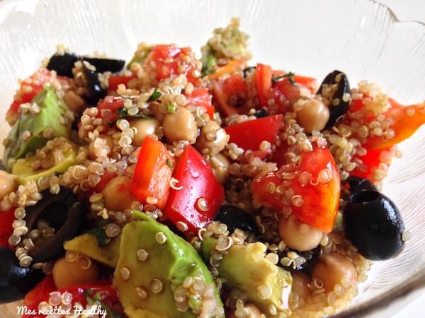 Salade Végie Avocat Tomate