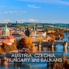 AUSTRIA, CZECHIA, HUNGARY and BALKANS