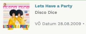 Disco Dice