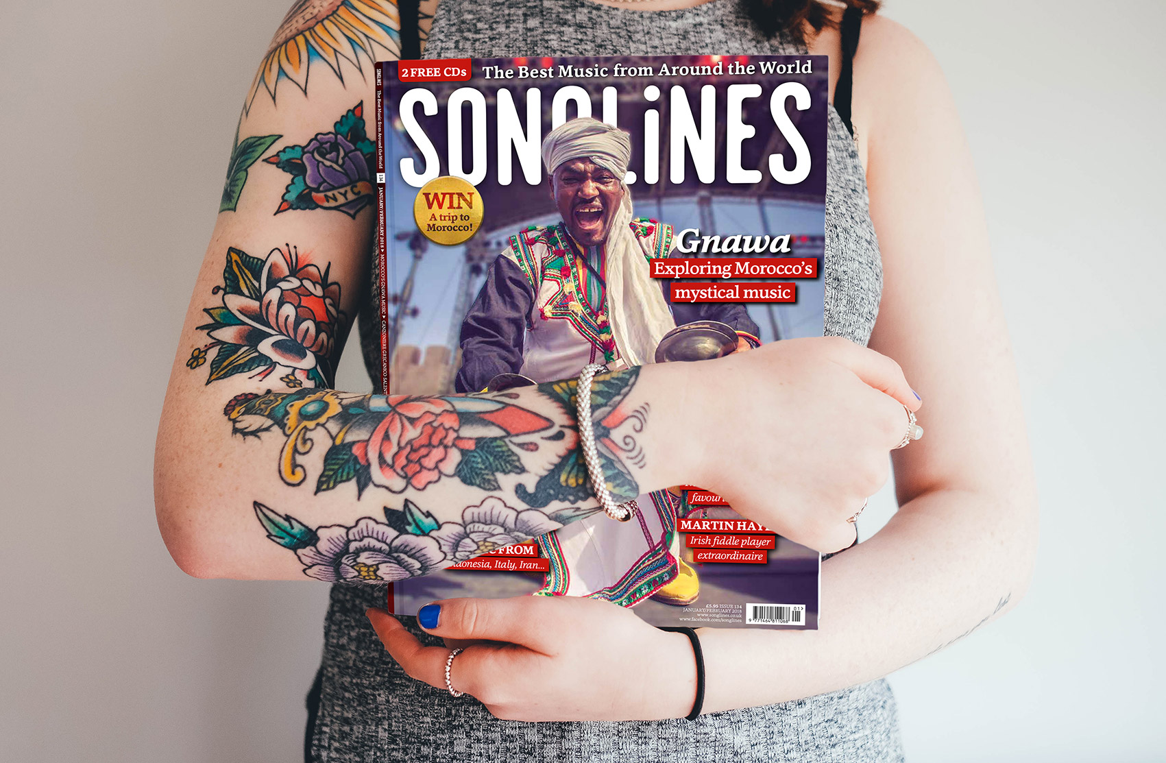 My cover for Songlines Magazine