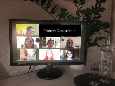 Wir feiern unser 1-jähriges Firmenjubiläum - Embers DE