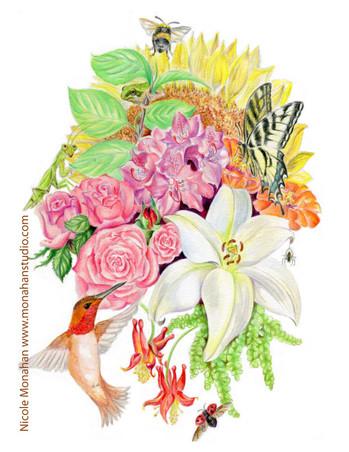 Nicole Monahan Summer Bouquet