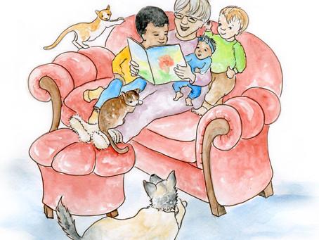 Illustration for Grandma!