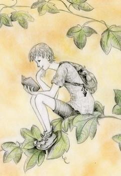 boy on leaf colorsq.jpg