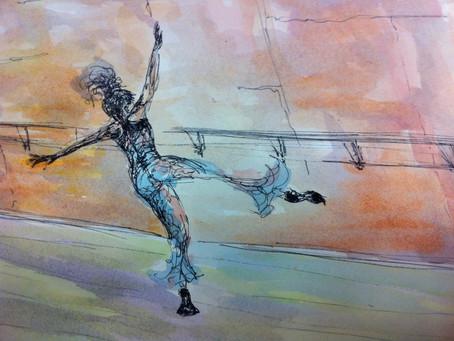 Dancers dance, Painters paint