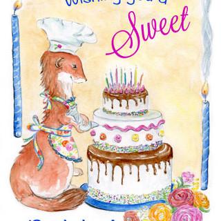 Wishing You A Sweet Birthday