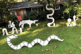 Participate in Yard Art Day!