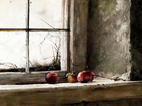Andrew Wyeth is on exhibit at the SAM until Jan.15th!
