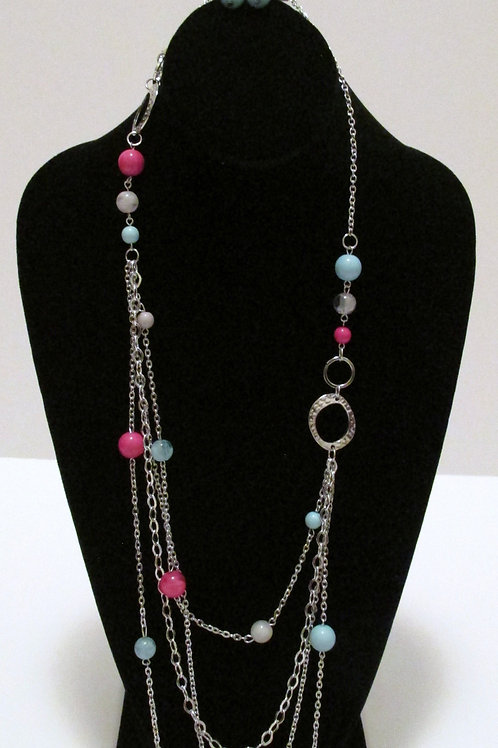 Rainbow Radiance Necklace Set - Paparazzi
