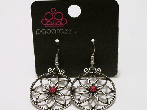 Paparazzi - Bloom Bloom Orange Earring