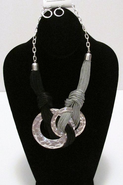 Queen Silver Gray Rope/Twine