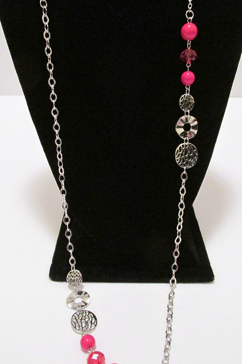 Midnight Musical Red Necklace - Paparazzi