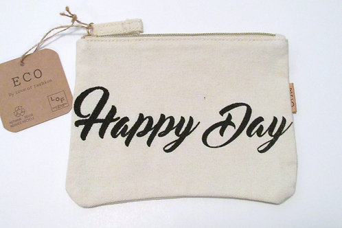 Eco Friendly Clutch - Happy Day