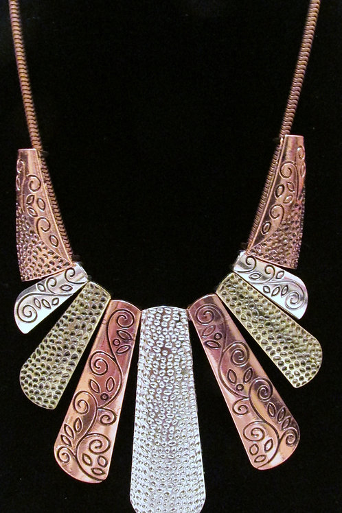 Untamed Necklace Set Copper Mix - Paparazzi