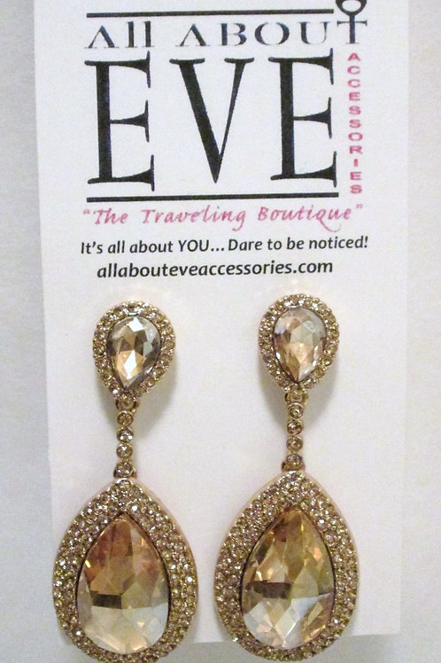 Queen Golden Teardrops 2 inches long