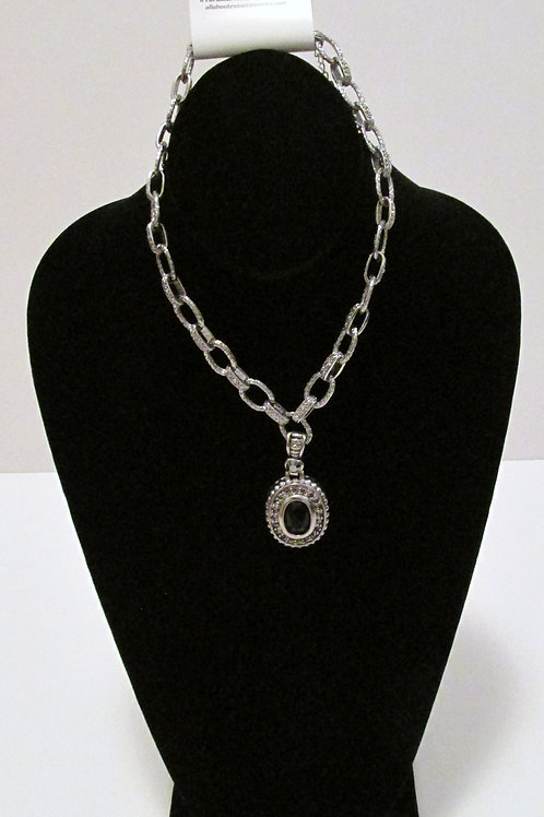Queen Chain Onyx Necklace Only - Two Sided