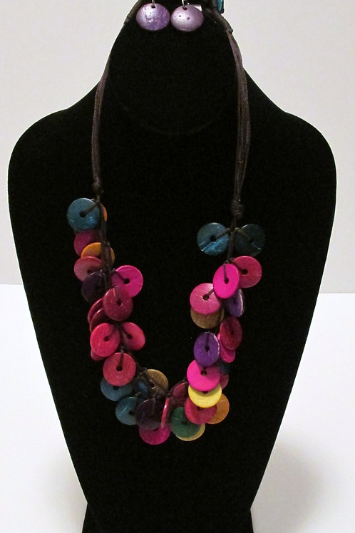 Jammin' In Jamaica Multicolored Necklace Set