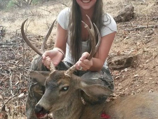 Kaya Mcdaniel; Sept 2014 Lady Hunter