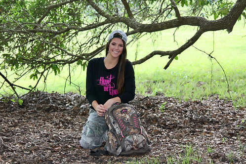 Hunt In Pink Long Sleeve Dry Wick