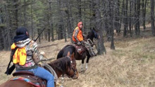 Donna Stanfill; Winter 2015 Lady Hunter