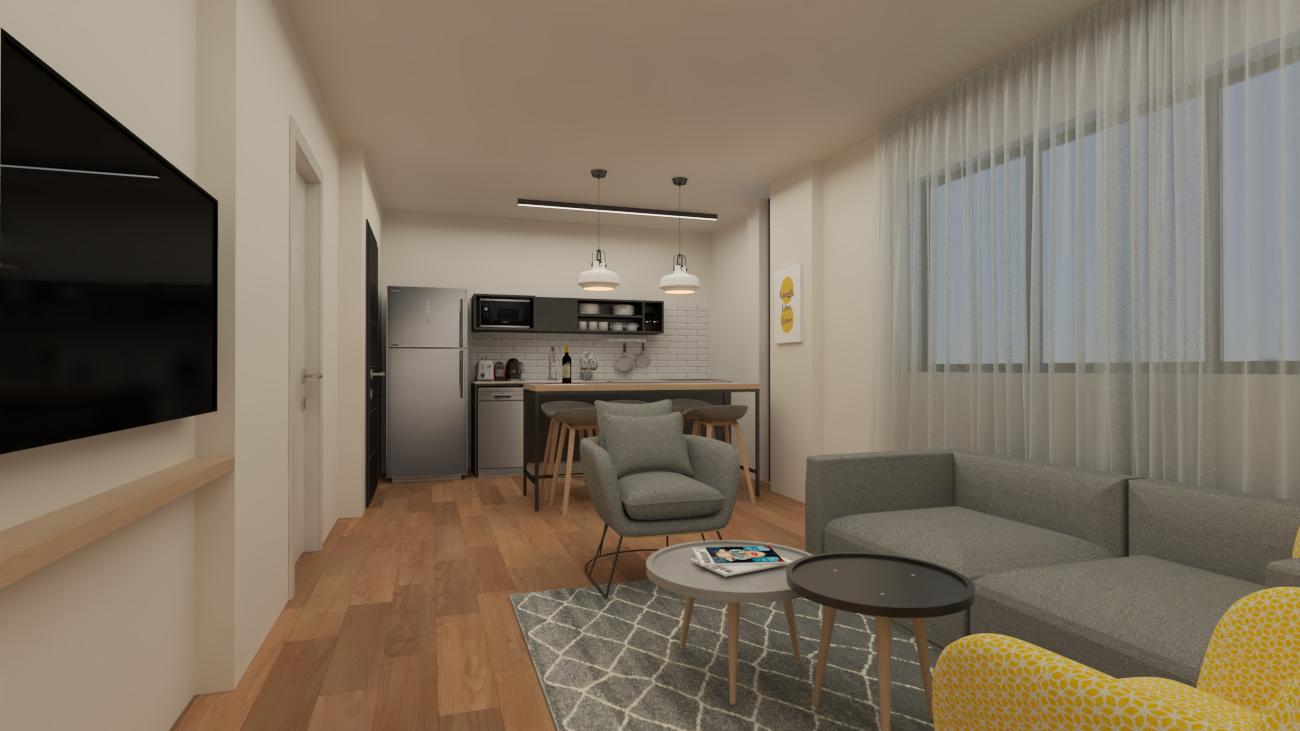 עיצוב דירות נופש