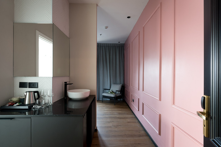 עיצוב מלון דיזנגוף גרדן