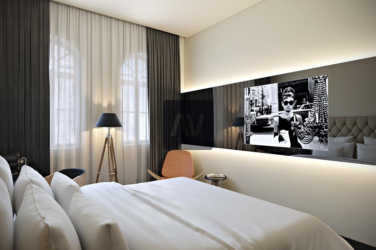 עיצוב דירות נופש ובתי מלון