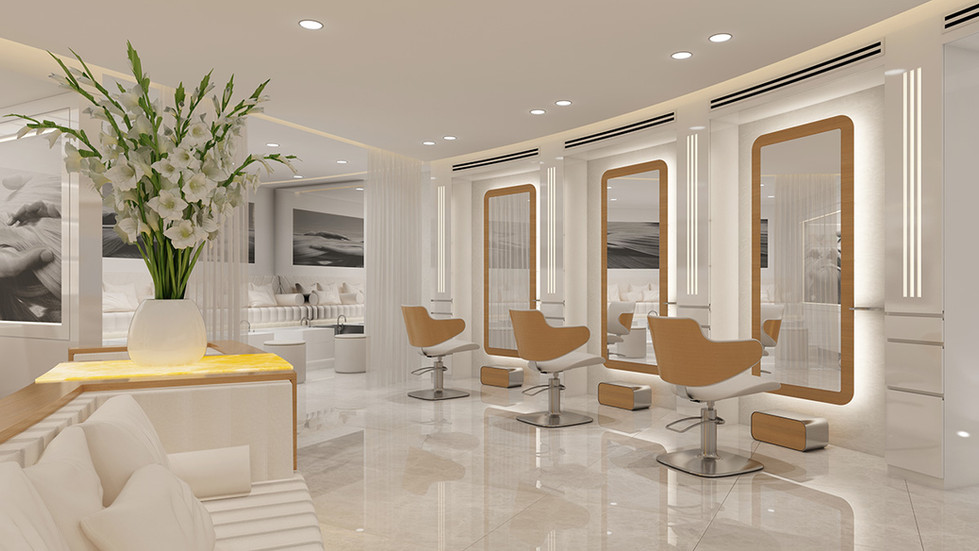 עיצוב מספרה וסלון יופי - סטודיו ניר יפת