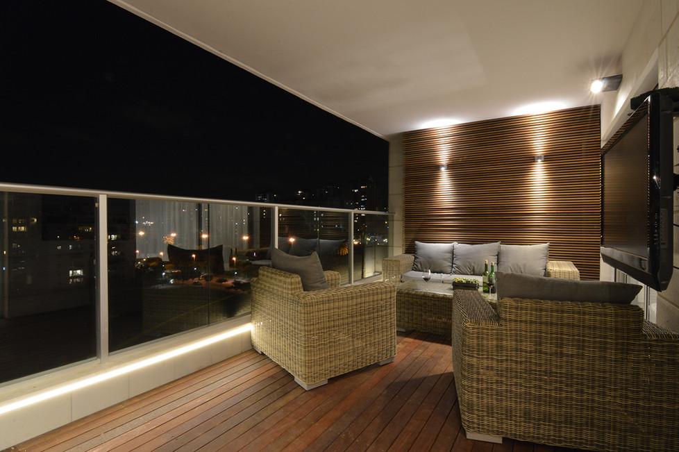 עיצוב דירת פנטהאוז ברמת אביב - סטודיו ניר יפת
