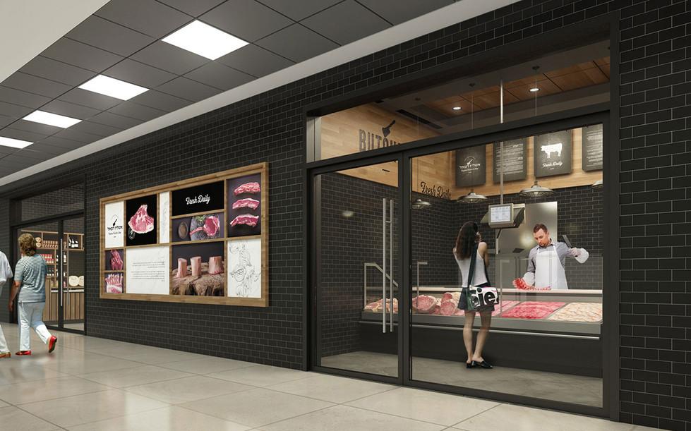 עיצוב חנות אטליז - סטודיו ניר יפת