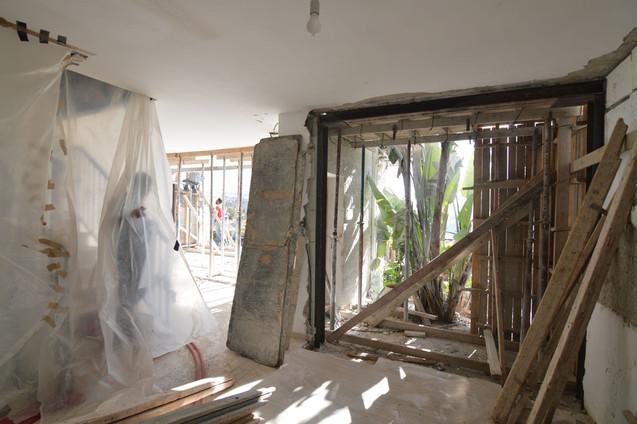 שיפוץ והרחבה בית פרטי