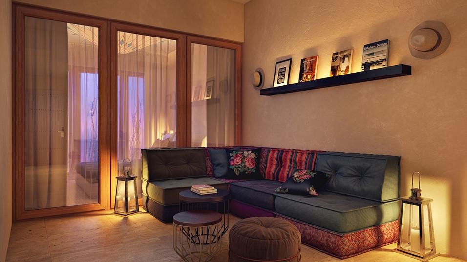 עיצוב מלון בוטיק מדברי   סטודיו ניר יפת