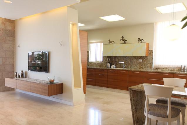 עיצוב דירת פנטהאוז - סטודיו ניר יפת