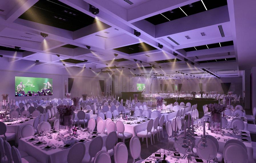 עיצוב אולם אירועים בלאג'יו בת ים