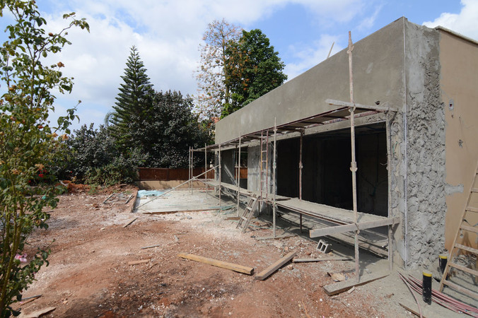 עיצוב מחדש לבית פרטי - הרחבת בית פרטי