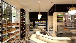 עיצוב חנות אטליז