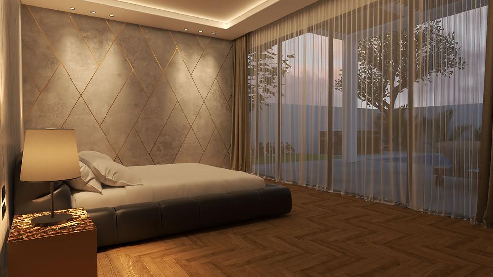 עיצוב ותכנון דירת פנטהאוז - סטודיו ניר יפת