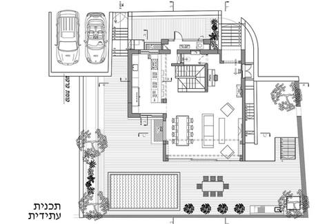 שיפוץ והרחבה בית פרטי - תכנית עתידית