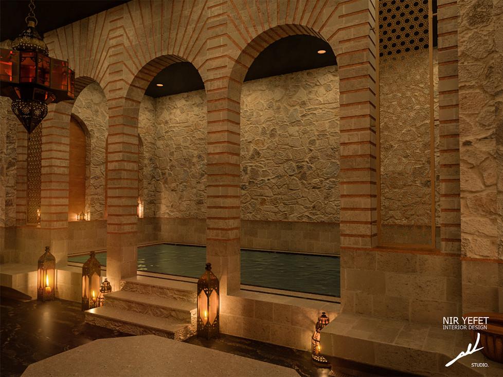 עיצוב מלון קדמא | סטודיו ניר יפת