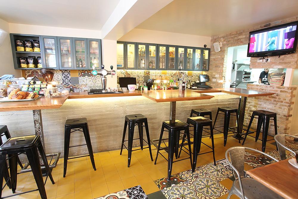עיצוב בית קפה - עיצוב ותכנון סטודיו ניר יפת