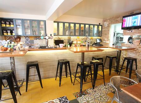 עיצוב והקמת בית קפה
