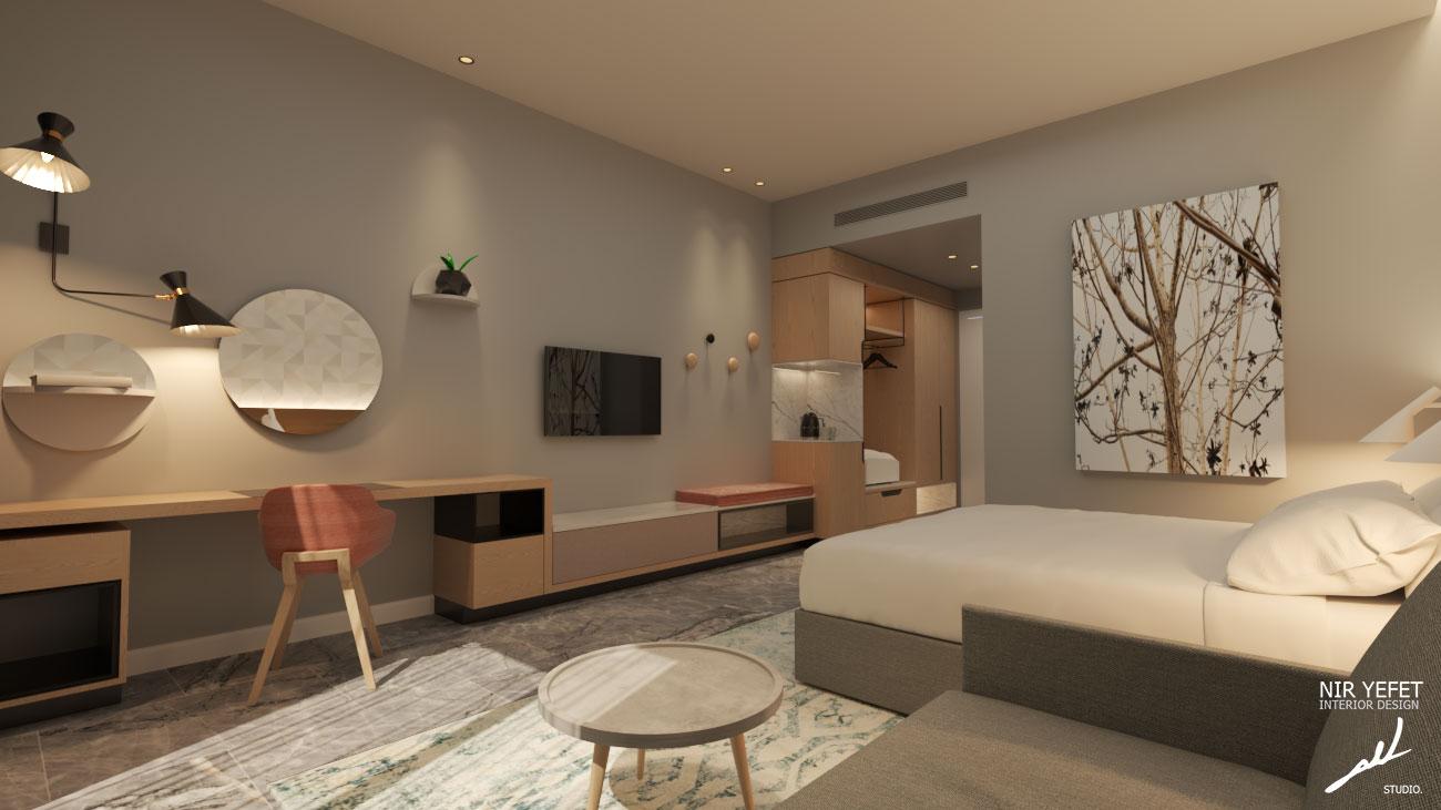 עיצוב מלונות ודירות נופש