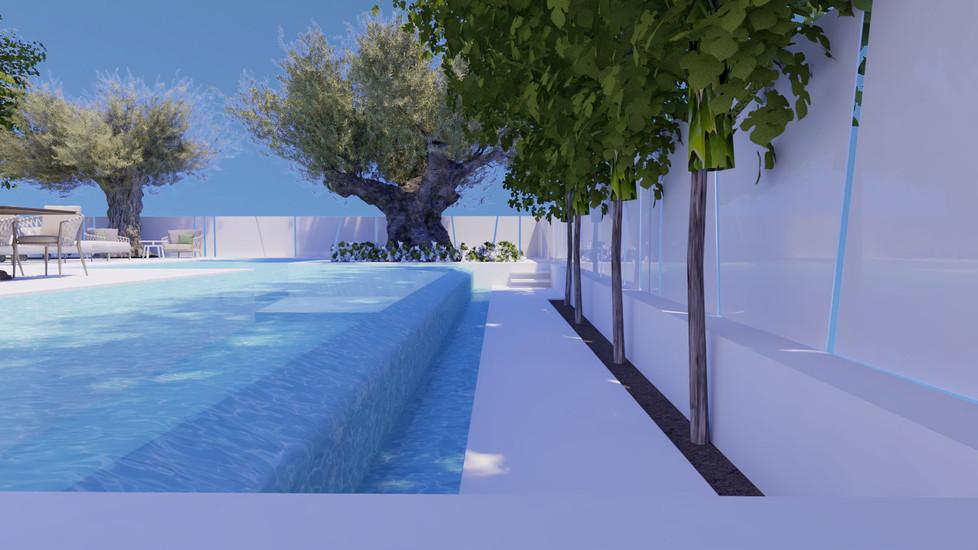 עיצוב בית עם בריכה