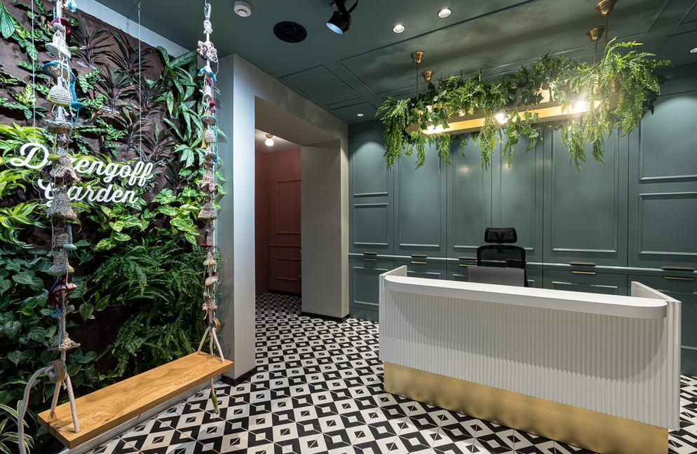 עיצוב מלון דיזנגוף