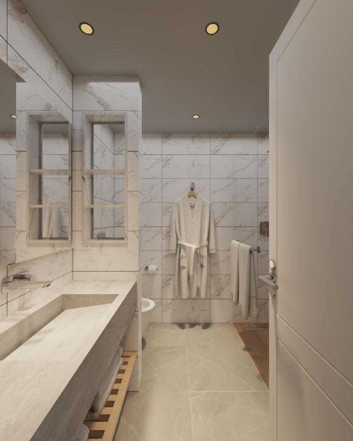 עיצוב בית מלון בהרי ירושלים