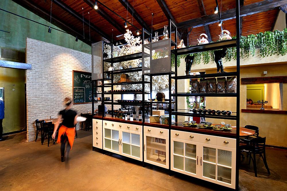 עיצוב מסעדה - עיצוב ותכנון סטודיו ניר יפת