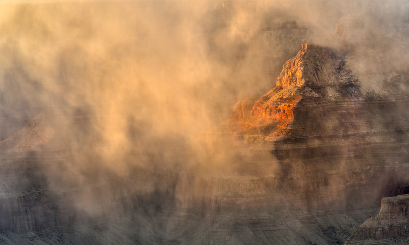 Clearing Storm-Grand Canyon