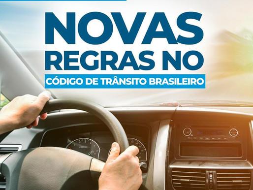 Já conhece as novas regras do Código Brasileiro de Trânsito? A gente te ajuda!