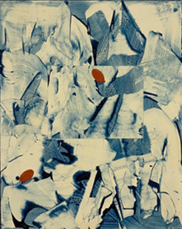 Petrazul #2, 2005, 30 in x 24 in, Acryli
