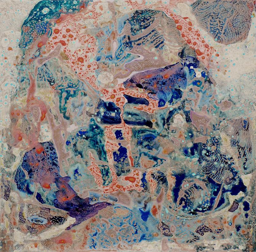 River of Light #2, 2011, 24 in x 24 in,